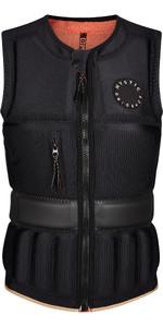2021 Mystic Womens Gem Front Zip Wake Impact Vest 210159 - Black
