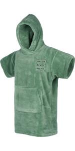 2021 Mystic Junior Teddy Change Robe / Poncho 210135 - Vert Salt