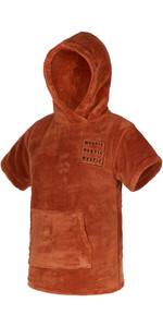 2021 Mystic Kids Teddy Change Robe / Poncho 210136 - Rusty Red