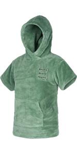 2021 Mystic Kids Teddy Change Robe / Poncho 210136 - Vert Salt