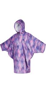 2021 Mystic Kleed / Poncho Voor Dames 210137 - Zwart / Paars
