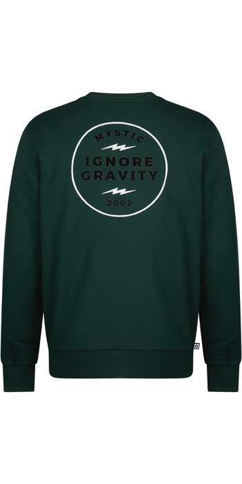 2021 Mystic Mens The Zone Sweatshirt 210208 - Zypressengrün
