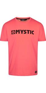 2021 Mystic Mens Brand T-Shirt 190015 - Coral