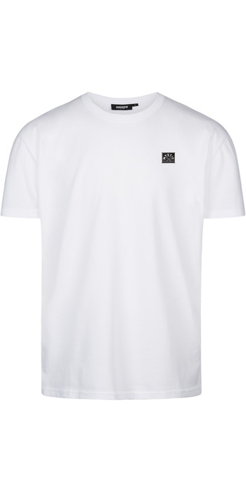 2021 Mystic Herren Lowe T-shirt 210229 - Weiß