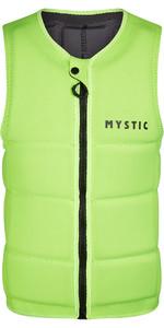 2021 Mystic Brand Front Zip Wake Schutzweste 200183 - Blinkt Gelb