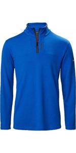 2020 Musto Homme Sardinia 1/2 Zip Fleece 82018 - Bleu Olympique