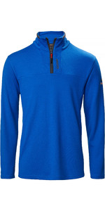 2020 Musto Sardinia 1/2 Zip Fleece Para Hombre 82018 - Azul Olímpico
