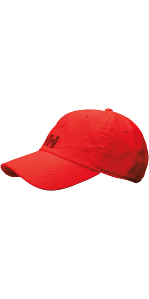 2019 Helly Hansen Logo Cap RED 38791