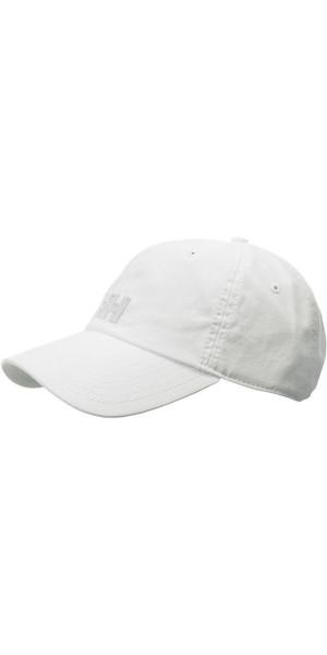 2018 Helly Hansen Logo Cap White 38791