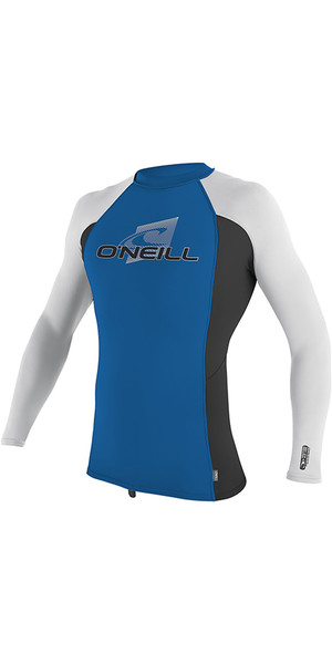 2019 O'Neill Jugend Premium Skins Langarm Rash Weste Ozean 4174