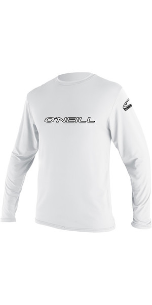 2019 O'Neill Youth Basic T-shirt à manches longues Rash White 4341