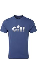 2019 Gill Saltash T-shirt Met Vervaagde Print Voor Heren Ocean 4454