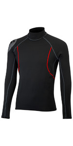 2019 Gill Junior Hydrophobe Thermal Long Sleeve Top BLACK 4522J