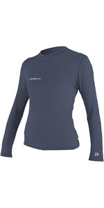 O'Neill Womens Hybrid Long Sleeve Surf Tee Mist 4676
