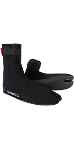 2019 O'Neill Heat Ninja 3mm Split Toe Boot Black 4786