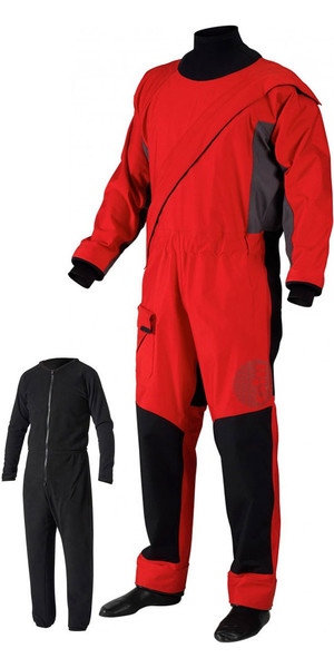 2018 Gill Pro Front Zip Drysuit + GRATIS UNDERSUIT Red 4802