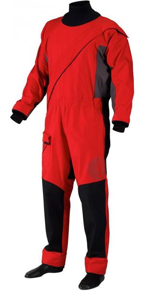 2019 Gill Zip Junior Front Pro Drysuit Rouge 4803J