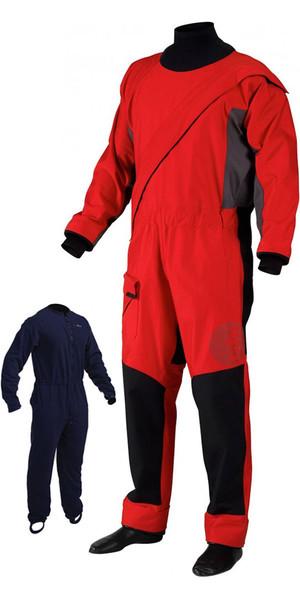 2018 Gill Junior Pro Zip frontal Drysuit + UNDERFLEECE Rojo 4803J