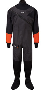 2019 Gill Junior Front Zip Drysuit Sort 4804j