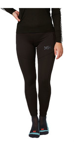 2019 Helly Hansen Womens Lifa Active Base layer trouser Black 48337