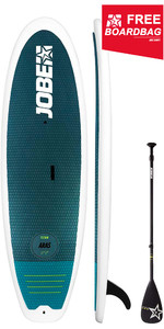 "2019 Jobe Titan Aras 8'6 ""Stand Up Paddle Board INC 3-Piece Fiberglass Paddle & Boardbag 486617001"