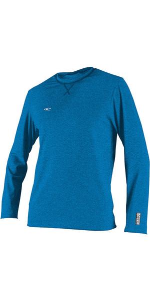2019 O'Neill Hybrid Langarm Surf T-Shirt Brite Blau 4879
