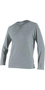 2020 O'neill Herren Hybrid Langarm Surf T-Shirt Cool Grau 4879