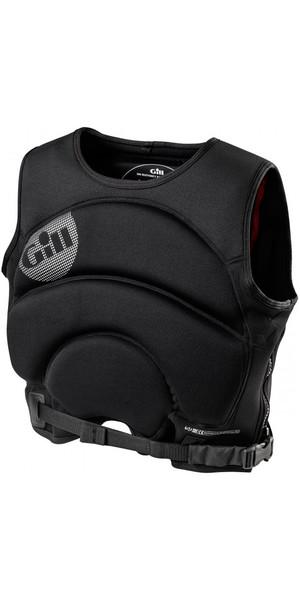 2018 Gill Compressor Vest en noir 4914