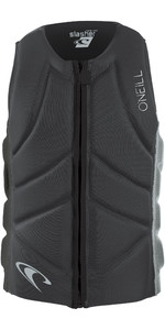 2019 O'Neill Mens Slasher Comp Impact Vest Grafit / Cool Grey 4917EU