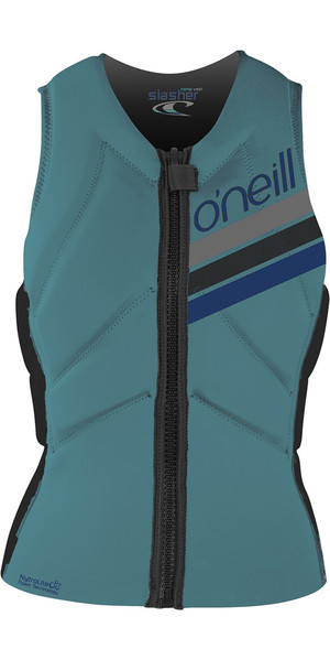 2018 O'Neill Damen Slasher Comp Impact Weste Breeze 4938EU