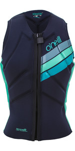 2019 O'Neill Womens Slasher Kite Impact Vest Abyss / Seaglass 4943EU