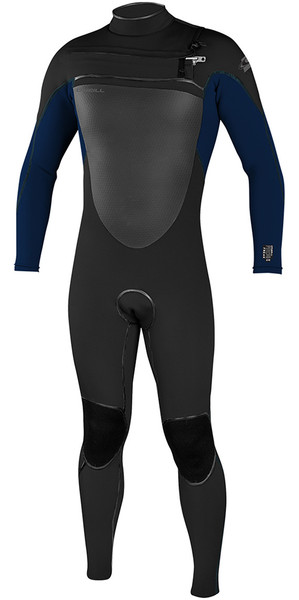 2019 O'Neill Psycho Freak 5/4mm Chest Zip Wetsuit BLACK / Slate 4984