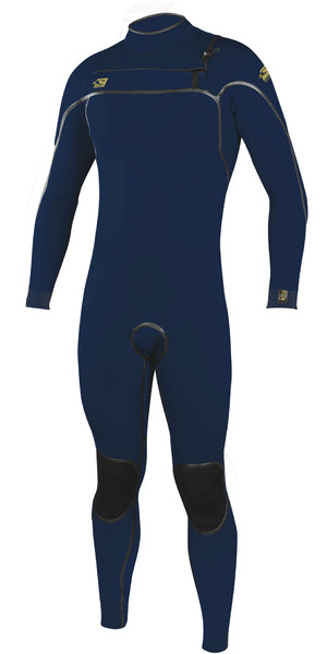 2019 O'Neill Mens Psycho One 3/2mm Chest Zip Wetsuit Abyss 4966