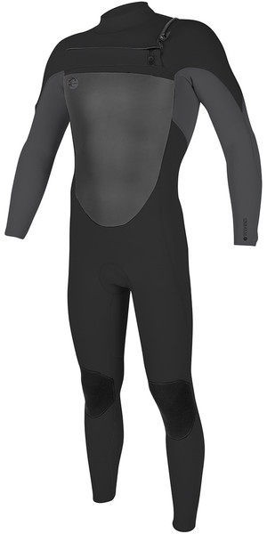 2018 O'Neill O'riginal 5 / 4mm Chest Zip Wetsuit Midnite olio / fumo 4996