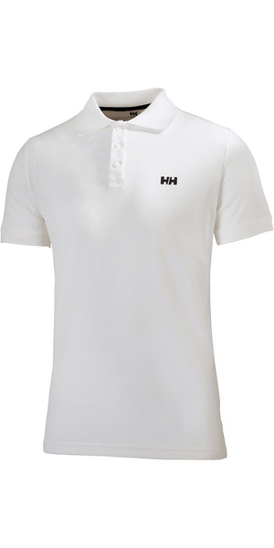 2019 Helly Hansen Driftline Polo Shirt Bianco 50584