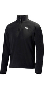 2021 Helly Hansen Heren Daybreaker 1/2 Zip Fleece Zwart 50844