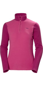 2019 Helly Hansen Delle Donne Daybreaker 1/2 Zip In Pile Dragon Fruit 50845