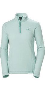 2019 Helly Hansen Damen Daybreaker 1/2 Zip Fleece Blue Haze 50845