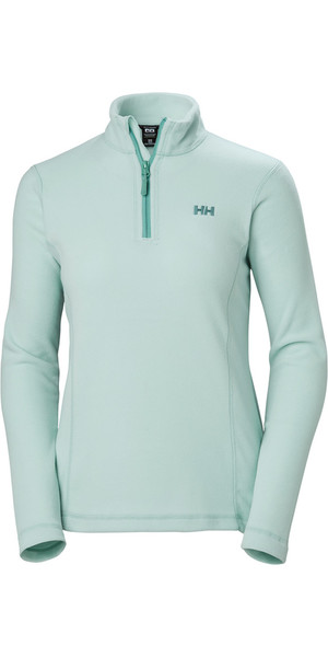 2019 Helly Hansen Womens Daybreaker 1/2 Zip Fleece Blue Haze 50845