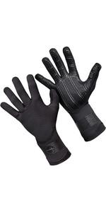 2020 O'Neill Psycho 3mm Double Lined Neoprene Gloves Black 5104