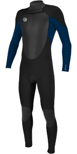 O'Neill O'riginal 4/3mm Back Zip Wetsuit BLACK / Deep Sea 5114