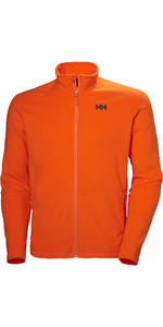 2019 Giacca In Pile Helly Hansen Uomo All'alba 51598 Arancione Brillante