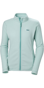2019 Helly Hansen Daybreaker Fleecejack Blue Haze 51599 voor dames