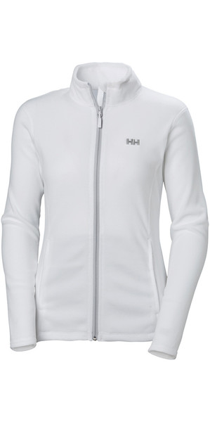 2018 Helly Hansen Womens Daybreaker Fleece Jacket White 51599