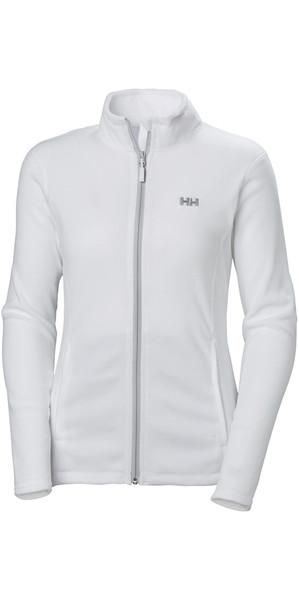 2019 Helly Hansen Womens Daybreaker Fleece Jacket White 51599