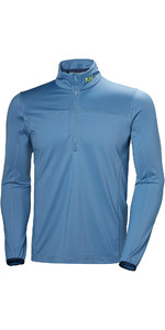 2019 Helly Hansen 1/2 Zip 2.0 Fleece Blue Dimma 51803