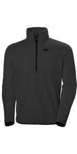 2019 Helly Hansen Feather Pile 3/4 Zip Fleece Ebony Melange 51807