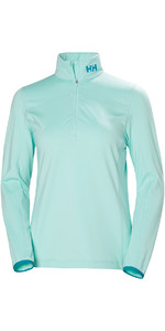 2019 Helly Hansen Womens Phantom 1/2 Zip Fleece 2.0 Blue Tint 51813