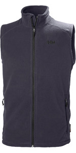 2019 Helly Hansen Heren Daybreaker Fleece Vest Graphite Blue 51831