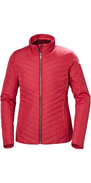 2018 Helly Hansen Womens Crew Insulator Jacket Cardinal 53030